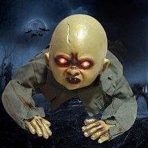 Halloween Horror Props Crawl Baby Sound Control Luminous Simulation Tric... - $55.72