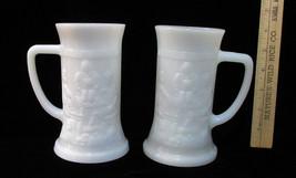 2 Mugs Steins Vintage Anchor Hocking Fire King ... - $18.80