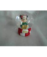 Disney Mickey Mouse Snow Globe JC Penney Exclusive 2 1/2 Inches Tall 2006 - $4.99