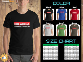 Hot Wheels Super Treasure Hunt - High Quality Clothing T-Shirts - $21.50+