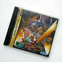 DRAGON FORCE II 2 Sega Saturn Video Game Japan Japanese  - $42.00