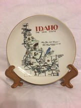 "Vintage Idaho The Gem State 8""  Norcrest Collec... - $7.43"