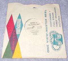 Vintage View Master 3 Popeye Reel Set 1960's - $8.00