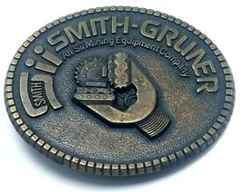 Smith-Grumer Mining Equipment Company Laiton Boucle Ceinture - $10.16