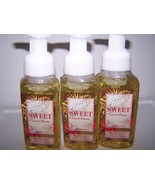 Lot of 3 Bath & Body Works Sweet Sunrise Mimosa Gentle Foaming Hand Soap 8.75 oz - $18.45
