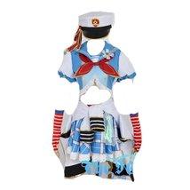 Love Live Yazawa Nico navy Awaken cosplay costume - $103.37