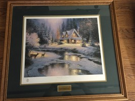 Thomas Kinkade, Placerville Christmas Memories ... - $354.37