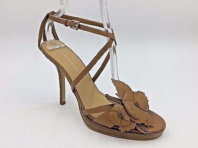 9956da1848d374 1. 1. Previous. Colin Stuart Brown Genuine Leather Flower Sandals Stiletto  Heels size 8M NWOB B3