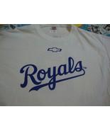 MLB Kansas City Royals Chevrolet 2013 Chevy Racing T Shirt Men's size XL - $14.54