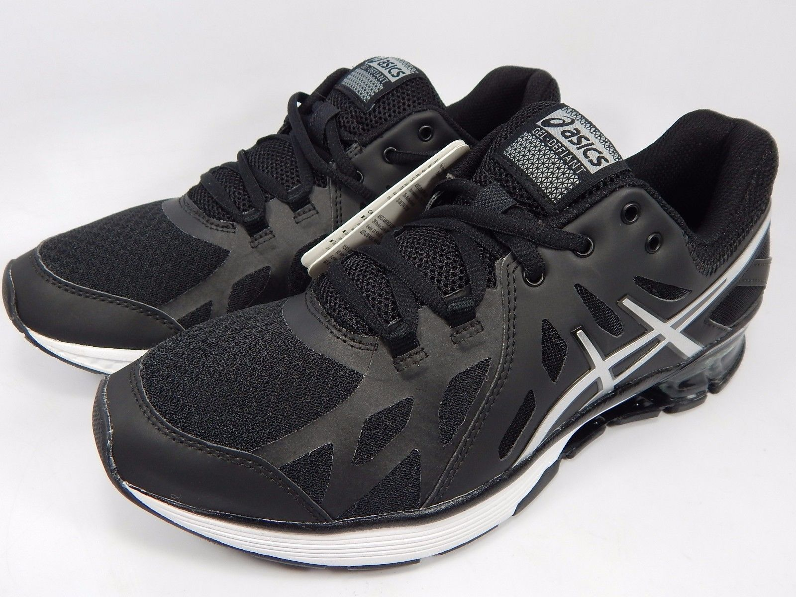 Asics Gel Defiant Men's Running Shoes Size US 8 M (D) EU 41.5 Black S412N