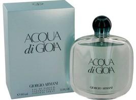 Giorgio Armani Acqua Di Gioia 3.4 Oz Eau De Parfum Spray image 4