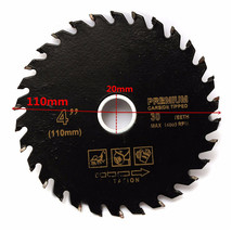110mm 4 Inch Circular Carbide-Tipped Power Cutting Disc Saw Blade For ... - $8.45