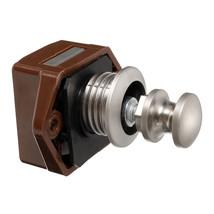 Plastic Lock Housing Mini Push Button Catch Lock Pop Up Knob For RV Cara... - $169,88 MXN