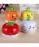 4 Colors Practical Kitchen Clock Sweet Cartoon Animal Style Cooking Time... - $9.10
