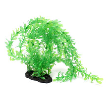 Aquarium Artificial Aquatic Grass Plants Fish Tank Ornament Plant Decor... - $191,40 MXN