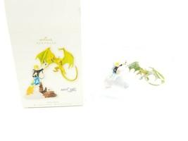 Jonny Quest Two Piece Dragon Fight Christmas Ornament 2008 Hallmark New ... - $11.95