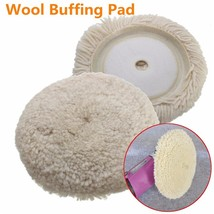 6 Inch Soft Wool Buffing Polishing Buffer Pad For Furniture Car Detailin... - $13.26