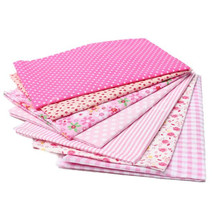 50 x 50cmm 7 Assorted Pre-Cut Charm Cotton Quilt Fabric 19.7 for Sewing ... - $14.04
