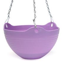 Flexible Hanging Chain Plastic Planter Flower Planter Pot Vase Basket Co... - $304,79 MXN