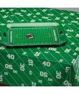 Football table cloth party Graduation Birthday Superbowl Party 52x70 in - £6.83 GBP