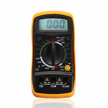 Digital LCD Multimeter Volt Meter Ammeter Ohmmeter Resistance AC DC Test... - $379,30 MXN