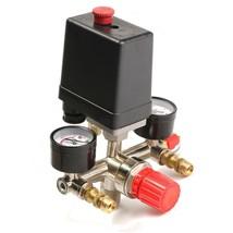 90-120PSI Practical DIY Air Compressor Pressure Switch Control Valve Man... - $997,39 MXN