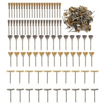 136Pcs/set Wire Brush Pencil Brush Steel/Brass Wire For Dremel Rotary T... - $64.09
