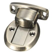 Bronze Magnetic Door Holder Stopper Doorstop Door Stop Wall Mounted Safe... - $252,32 MXN