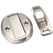 Chrome Magnetic Door Holder Stopper Doorstop Door Stop Wall Mounted Safe... - $235,41 MXN