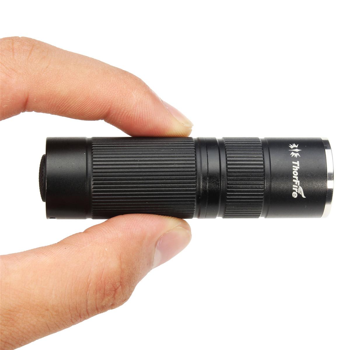 ThorFire KL03 Ultra Bright Mini Keychain LED Flashlight 174Lumen for Pocket Torc