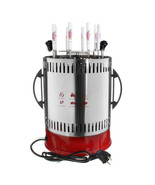 Electric Grill Skewers Smokeless Automatic Rotation Vertical Barbecue Ke... - $277.42