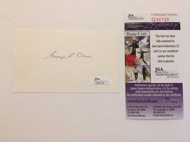 GEORGE CARON SIGNED CUT SIGNATURE JSA COA AUTOGRAPH ENOLA GAY HIROSHIMA ... - $67.15