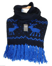 Abercrombie & Fitch Womens Scarf Moose Knit Muf... - $58.00