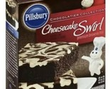 Pillsbury  Cheesecake Swirl Premium Brownie Mix 15.5 oz Cheesecake Filling