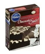 Pillsbury  Cheesecake Swirl Premium Brownie Mix 15.5 oz Cheesecake Filling - $12.99