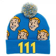 Fallout Vault Boy Pom Beanie - $17.50