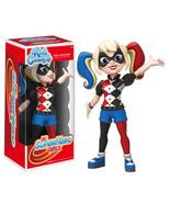 Dc super hero girls harley quinn rock candy vinyl figure thumbtall