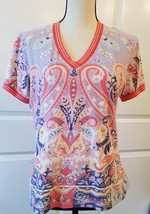 Etro Spa Designer Women's Multi Colored Top  Size 48 / L  image 1