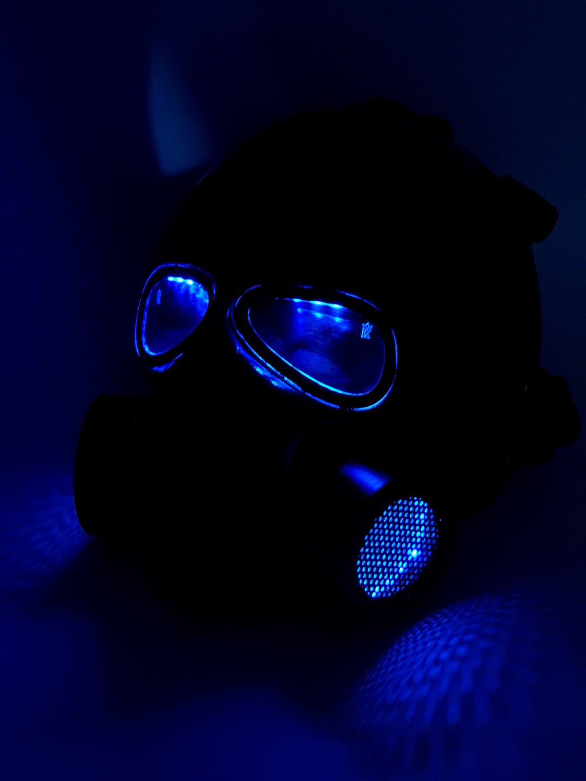 Invader King G Mask LEDs Army of Two Airsoft Mask Protective Gear Outdoor Spo... for sale  USA