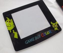 NEW Nintendo Game Boy Color GBC Replacement COVER Screen Pokemon Pikachu - $4.80