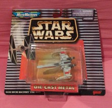 Star Wars X-WING Vehicle Micromachines Galoob Collectible Star Fighter Mosc - $14.50