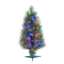 Gerson Company 4' Multi-Color Fiber Optic LED PVC Needles Full Christmas... - $110.99