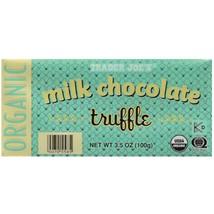Trader Joe's Organic Milk Chocolate Truffle Bar, 3.5 oz. - $7.99