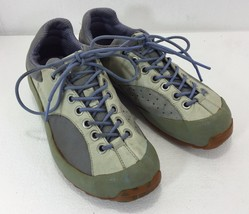 Tsubo Womens 6 Green Blue Cream Sneakers Gym Shoes - $37.49