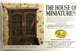 X-ACTO The House of Miniatures Closed Cabinet Top Doll House Furniture Kit - $14.64