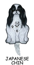 Pink Cloud Japanese Chin Swinging Tail Pendulum Wall Clock - $41.99