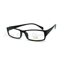 Classic Rectangular Optical Frame Glasses Clear Lens Eyeglasses - $9.95