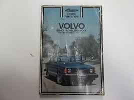 1967 1976 Clymer Volvo 140 & 240 Series Service Repair Handbook Manual W... - $11.84