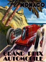 Monaco / Grand Prix Metal Sign - $16.95