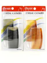 Annie Side Hair Combs - 2 Pcs - (03201, 03205) - $7.49